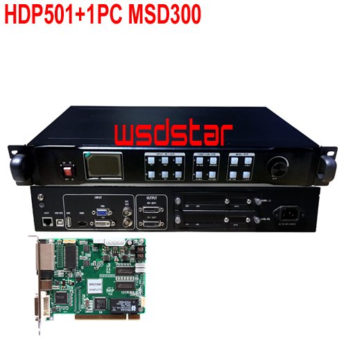 HDP501 1PC MSD300 Full color LED Display Screen video Processor 1920 1200 1920 1080 New Design