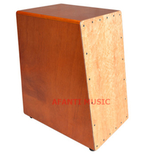Afanti Music Maple / Mahogany / Natural Cajon Drum (KHG-185)