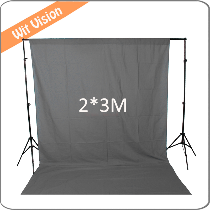 Solid Grey Musiln Backdrop 200*300CM Photography Background 300cm 200cm about 10ft 6 5ft fundo harp moonlight candles3d baby photography backdrop background lk 1859