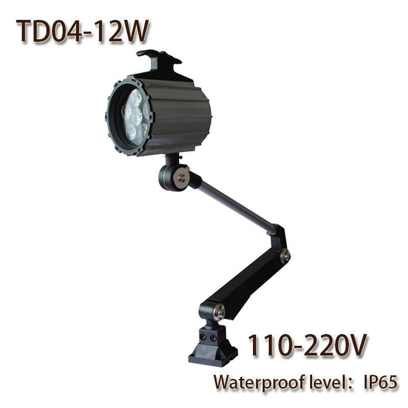 HNTD 12W AC 110-220V TD04 LED dolga roka nepremočljiva delovna luč - LED osvetlitev