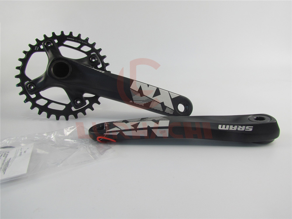 Original! SRAM NX 30T 32T 11 Speed Steel/Aluminum Chainring 170mm 175mm MTB Bike Crankset Without GXP Bottom Bracket 2012 sram red exogram bb30 167 5mm 34 50 crankset bottom bracket not included