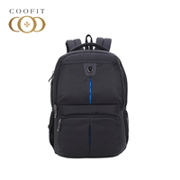Coofit Men S Backpack Fashion Waterproof Laptop Backpack Large Capacity Zipper Nylon Backpack For Business Traveling