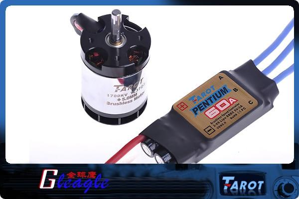 ФОТО Free shipping 60A brushless ESC +1700KV500 motor TL3723 speed controller