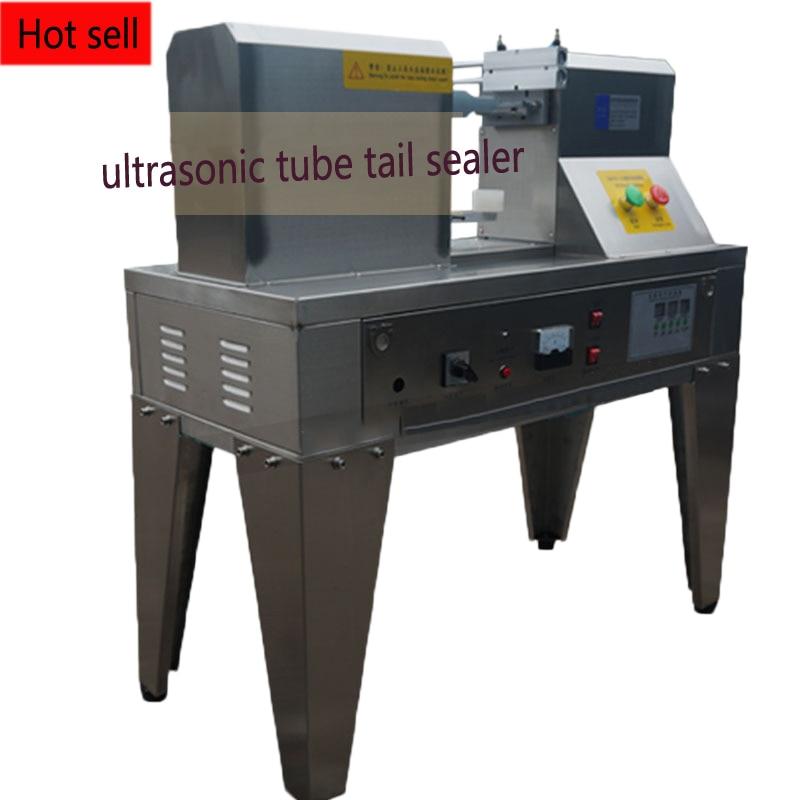 Sellador de cola de tubo de onda ultrasónica QDFM-125, máquina de cola de sellos de manguera, máquina de sellado de impulso para mercancía 1pc
