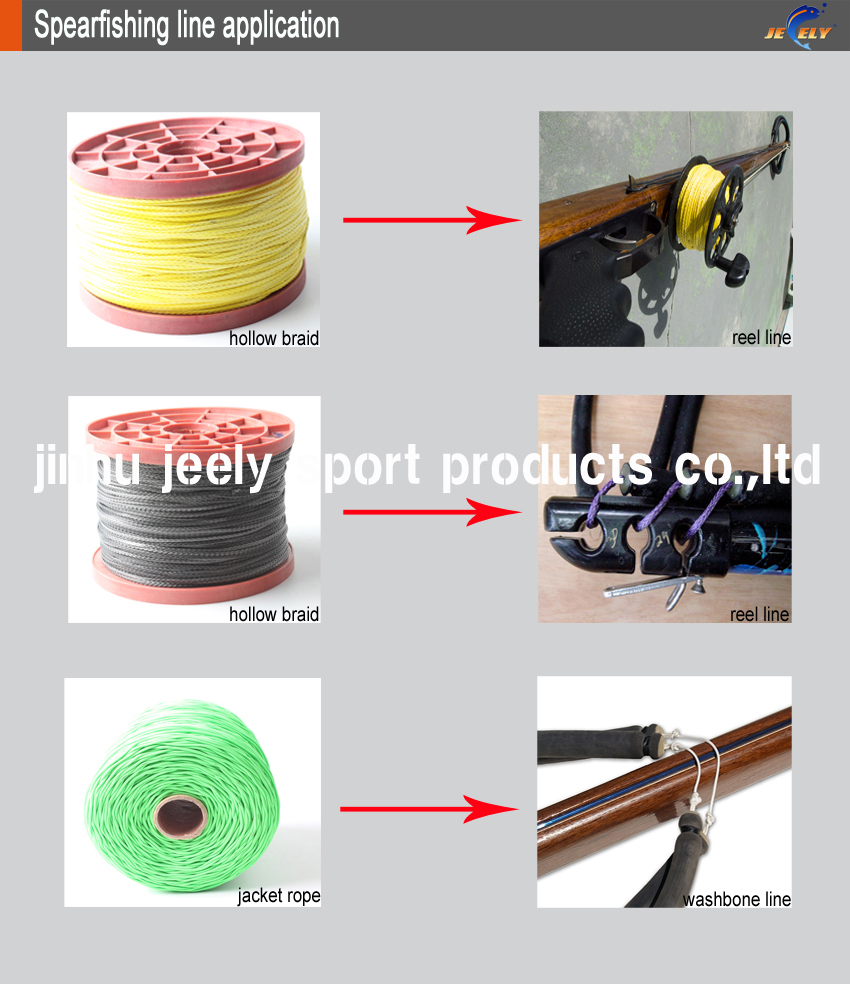 linha redonda rígida jaqueta corda 1.8mm 16 24 32 fios