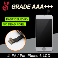 10pcs/lot 100% Top AAA 4.7 inch No Dead Pixel for IPhone 6 LCD Display Replacement Touch Screen pantalla Digitizer Assembly DHL