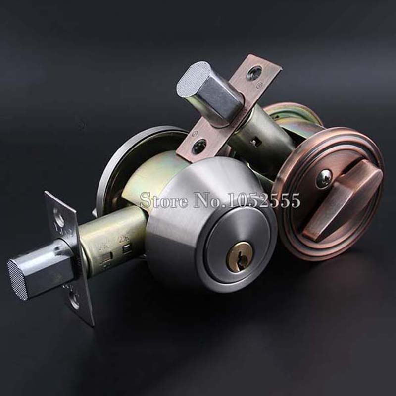 High Quality 6Sets Stainless Steel Invisible Door Latch Lock Door Knobs Handles Passage Entrance Lock Latch Deadbolt K115 new sus 304 stainless steel atresia mortice channel invisible locks corridor privacy lock deadbolt invisible door locks f16