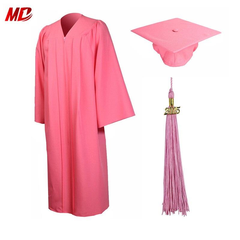 5cf97c455c1 ... College Graduation Cap And Gown  Graduationmall High School Unisex  Matte Graduation Cap And