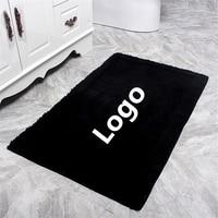 Customized High end Luxury Brand Household Door Carpet Floor Mats Living Room Carpets Bedroom Mat Bathroom Toilet Rug
