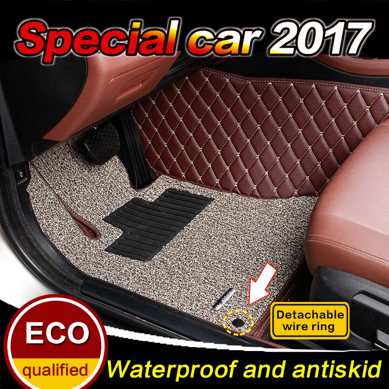 Custom fit Car floor mats forVolvo C30 S 40 S 60 S60L S80 S80L V40 V60 XC60 XC90 2004-2017 car floor carpet Liners MATS