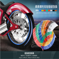 Hot Sell 16 Strips Wheel Sticker Reflective Rim Stripe Tape For Car Motorcycle Bike 16 17 18 inch