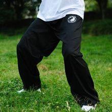 Cotton Tai chi pants kung fu wushu martial arts taiji trousers  black
