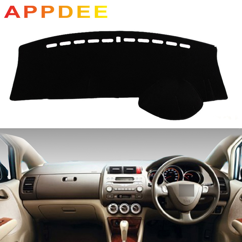 APPDEE For Honda Fit Jazz 2001 2002 2003 2004 2005 2006 2007 Car Styling Covers Dashmat Dash Mat Sun Shade Dashboard Cover Capte