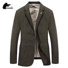 9ed43204bb46 Diseñador de los hombres chaqueta Casual de moda de la marca de hombre Slim  Fit chaqueta