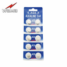 10x Wama AG5 LR48 393  1.5V Alkaline Button Cell Coin Battery Wholesale Factory High Capacity Disposable Calculator Toy New