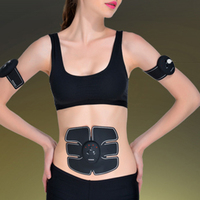 Wireless Sports Muscle Stimulator Fitness Massage Instrument Electric Pulse Treatment Massager Sports Abdominal Muscle Trainer