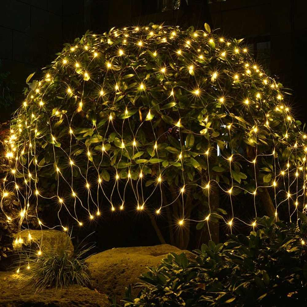 pretty nice f60b0 f35f3 Landscape Lighting Outdoor LED String Lights 220V Holiday ...