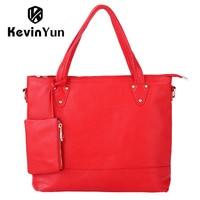 KEVIN YUN Designer Brand Luxury Women Bag Genuine Leather Handbag Shoulder Bags Ladies Tote Large Capacity