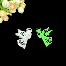 Julyarts Scrapbooking Cutting Dies Angel Baby Fairy Metal DIY Cut Template