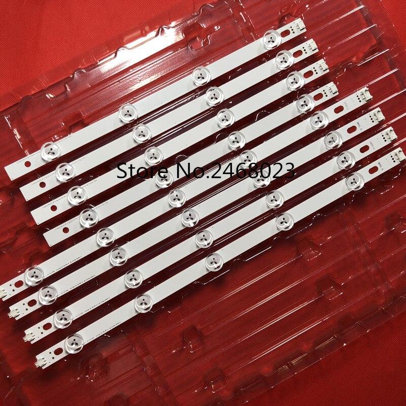 100% nouveau 1 set = 8 pièces (4A + 4B) barre de rétro-éclairage LED pour tv HC390DUN-VCFP1-21X 39LN5400 39LA6200 LG innotek POLA 2.0 POLA2.0 39 type A/B