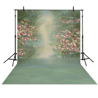 7*5ft vintage flowers baby photography backdrops green screen backgrounds for photo studio children birthday photo props