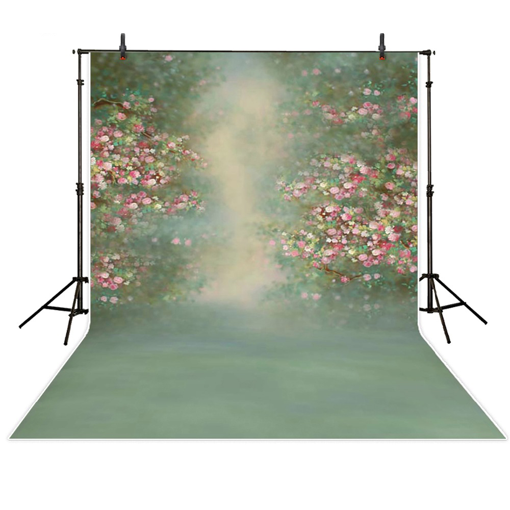 7*5ft vintage flowers baby photography backdrops green screen backgrounds for photo studio children birthday photo props spring background photography for kids photos green screen photography backdrops children photo props custom made backgrounds