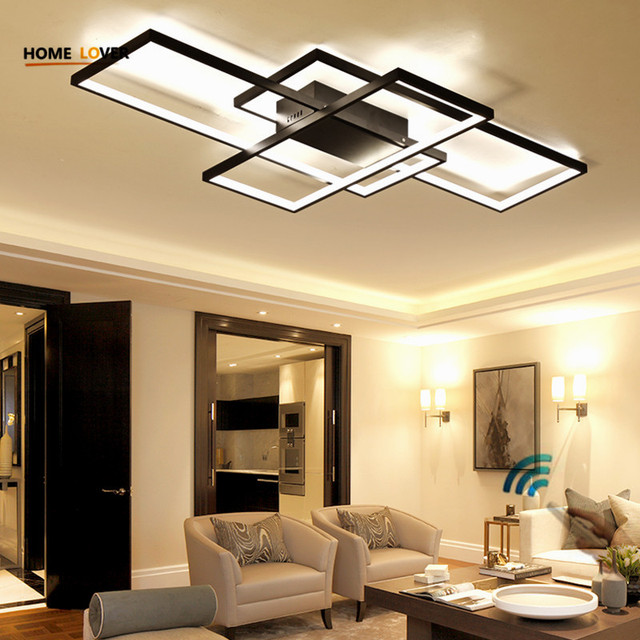 New Design Ceiling Lamp For Living Room Kitchen Light Rectangle - Kitchen light fixtures pictures