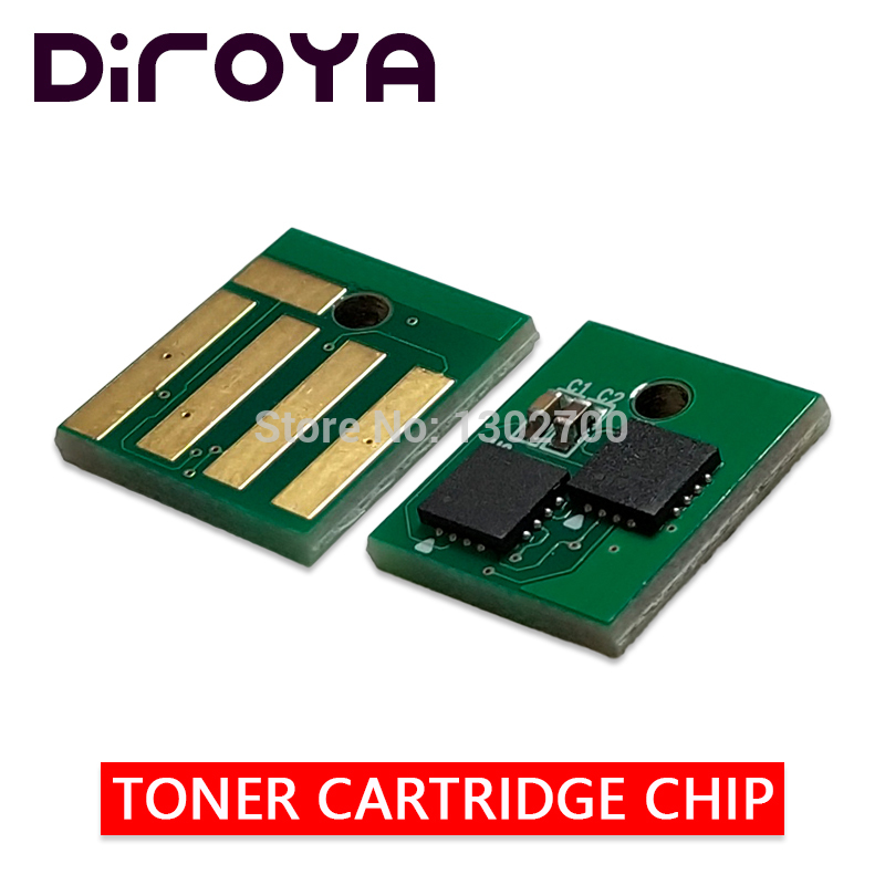 все цены на 10K Europe 60F2H00 602H Toner Cartridge chip for lexmark MX310 MX410 MX510 MX511 MX611 MX410dn MX 310 610 510 powder reset chips онлайн
