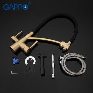 Image 5 - Gappo水フィルタータップ台所の蛇口のミキサータップミキサーシンクの蛇口浄水器タップキッチンミキサーフィルタータップ