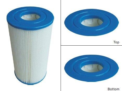hot tub spa pleated filter 23.5cm x 12.5cm 5.4cm hole