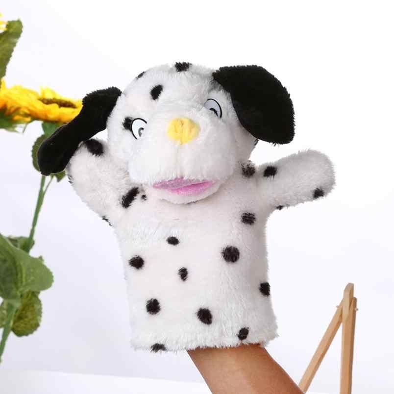 HIINST милый мультфильм животных Куклы Дети перчатки ручная кукла Мягкие плюшевые игрушки рассказом ручная кукла s для детей L806