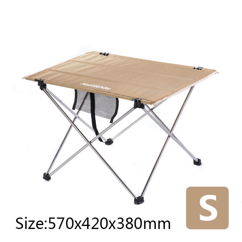 Image 3 - Table Outdoor Furniture Size S L Desk Modern Furniture Al Alloy Oxford Fabric Minimalist Tables Khaki Black Rectangle Table-in Outdoor Tables from Furniture
