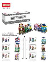 Interesting children toy building blocks compatible with font b Legoes b font mini city streetscape model