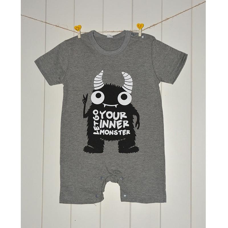 Bebé recién nacido Mamelucos del algodón del niño del mono lindo bebé  animal Niños ropa verano recién nacido bebé Mamelucos 30f01bcd82d