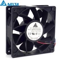 Free shipping original Delta QFR1212GHE 12V 2 70A 12038 12CM 6000RPM server fan cooling