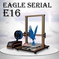 2019 Anet E10 E12 E16 Орел серийный 3D принтеры с 300*300*400 мм широкоформатной печати Размеры impressora 3D принтеры новое поступление