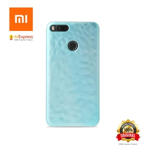 Image 2 - Xiaomi Mi A1 Mi 5X New Original Case Bumper Screen Protector Film PET for Mi 5x(Mi a1) Plastic Color Changes When Light Abstract