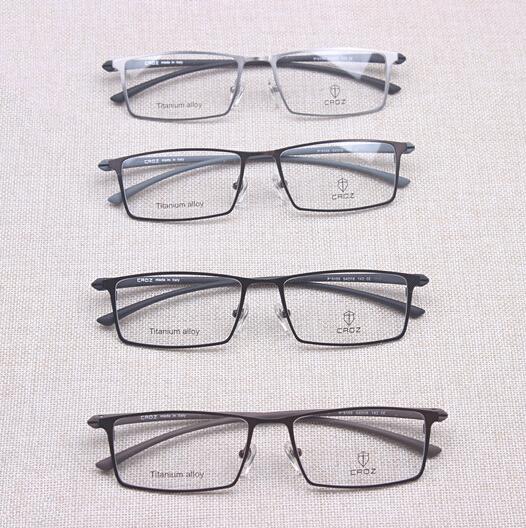 Top qualidade feito em Shenzhen óculos Titnaium puro homens óculos de miopia quadros para homens