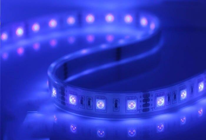 IP67 водонепроницаемый 5 м 300 светодиодный 5050 Светодиодная лента 12 в 60 светодиодный/м белый теплый белый RGB использовать для двора Gardeb Ванная комната Кухня на открытом воздухе