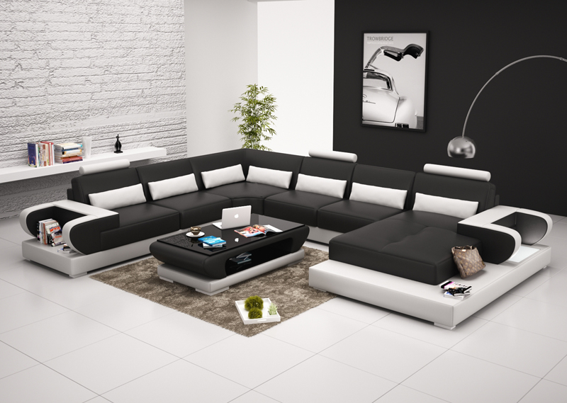 Phenomenal Us 1688 0 0413 G8003 Home Furniture Living Room Modern Leather Sofa With Good Price In Living Room Sets From Furniture On Aliexpress 11 11 Double Theyellowbook Wood Chair Design Ideas Theyellowbookinfo