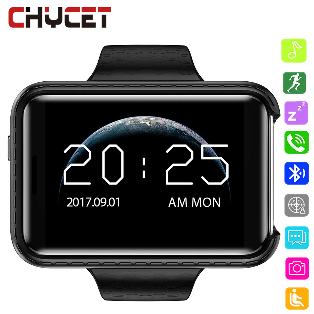 Smart watch 2.2 Inch Touch Screen Bluetooth Sim TF card Pedometer Video Camera 720 HD Music Smartwatch for men Android IOS Watch 1 6 screen stainless steel bluetooth 3 0 sim camera hd dv recording pedometer 4g memory smart watch phone security msn p20