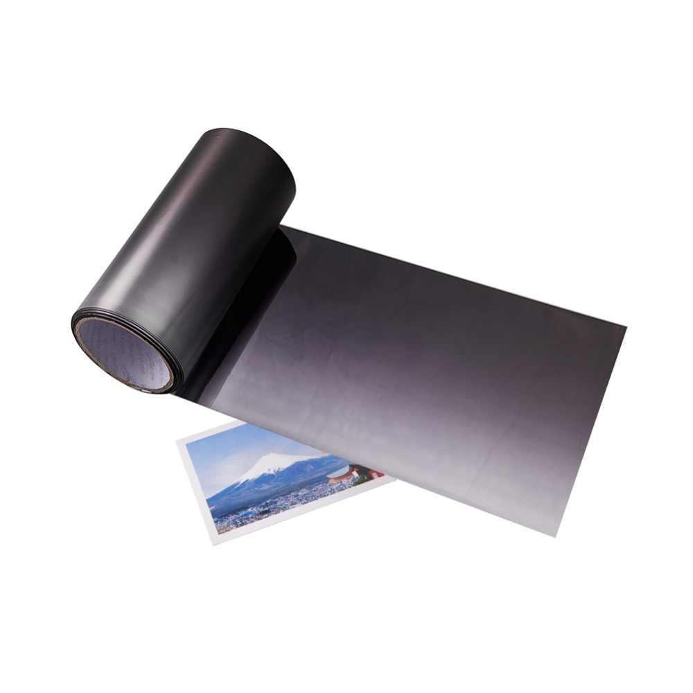 สีดำรถฟิล์มกระจกรถยนต์ฟิล์มรถพลังงานแสงอาทิตย์หน้าต่างฟอยล์ฟิล์มห่อสติกเกอร์ 20 ซม.x 150 ซม.