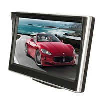 HD 5 Inch Car Rear View System TFT Color LCD Car Reverse Rearview 800 480 Car
