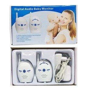 Image 5 - Monitor de Audio Digital portátil para bebé, 2,4 GHz, V20, Radio bidireccional, monitoreo por voz, alarma de llanto, Monitor con sonido para bebé