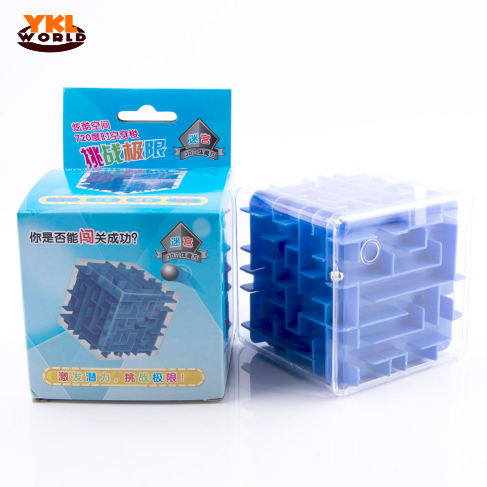 8cm Large Size 3D Maze Puzzle Game Labyrinth Magic Cube Cubos Magicos Rolling Ball Toys  ...