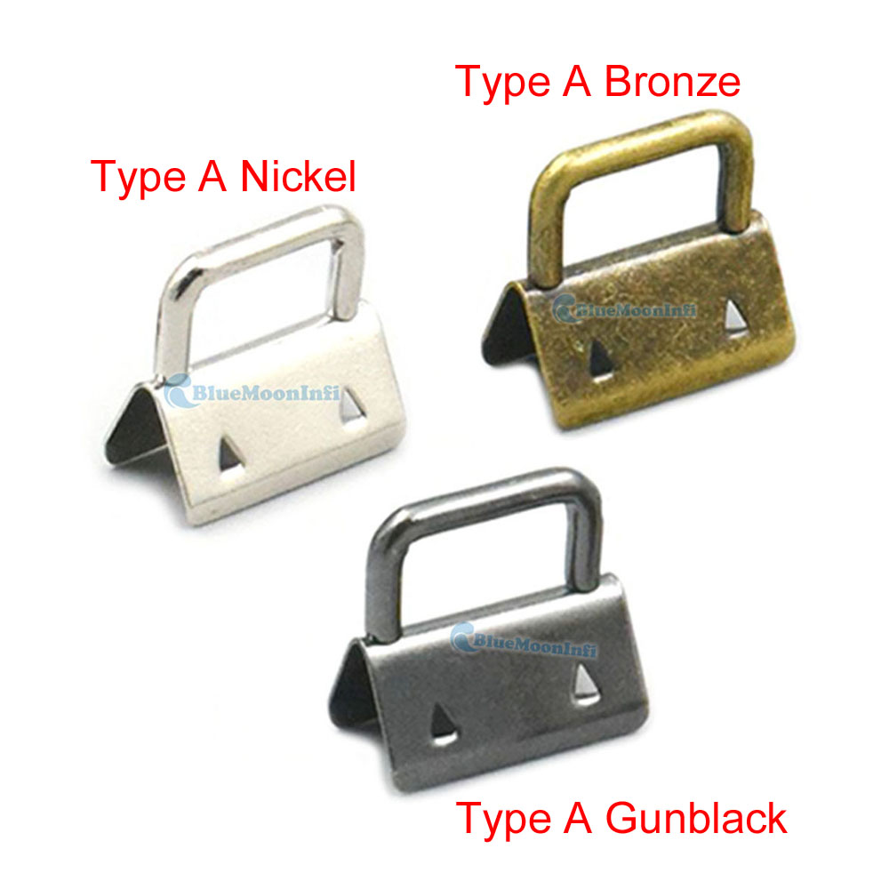 "32mm 1.25/"" Keychain Key Fob Hardware Wristlet Set Keyring Wrist Bag Strap Tool L"