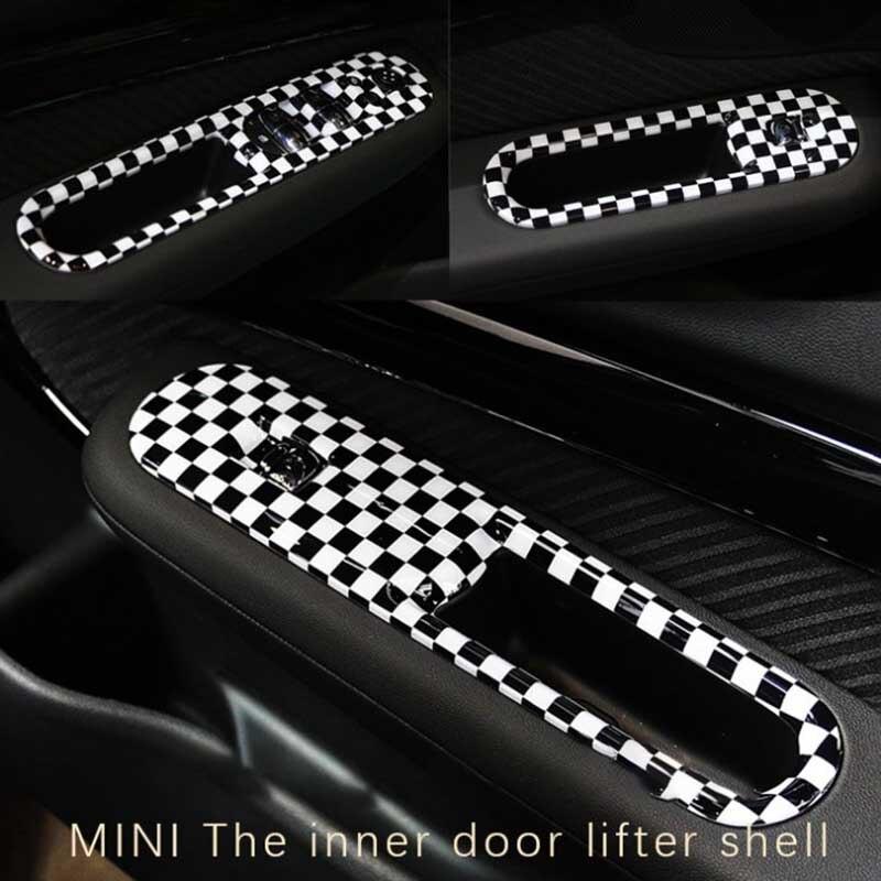 POUR 2016 BMW MINI Clubman F54 6 porte lifter interrupteur et panneau de commande 4 pièce décoration modification