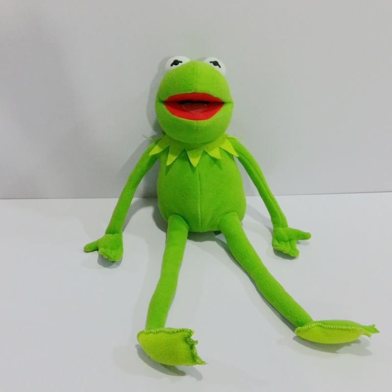 Original The Muppets Kermit the Frog Stuff Animal Cute