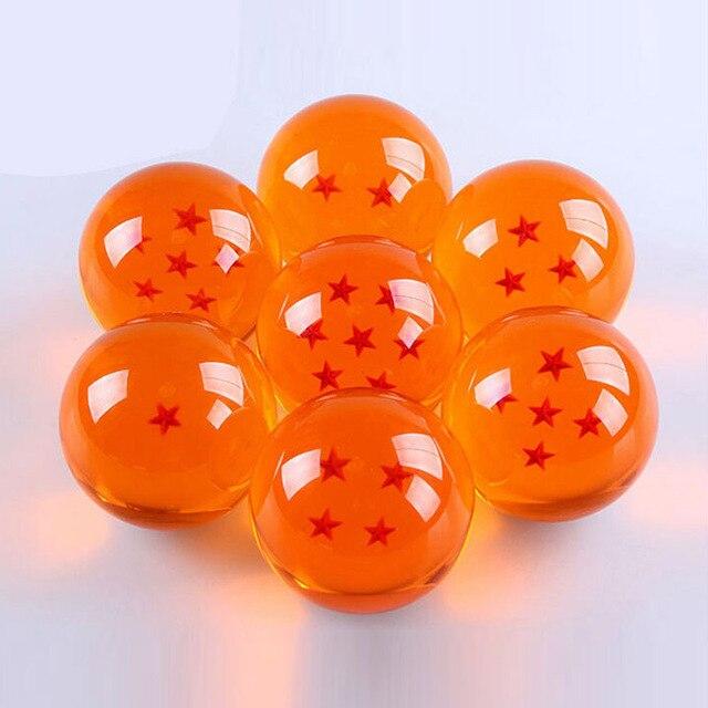 4 cm Anime Dragon Ball Z Crystal Ball Hình Đồ Chơi 7 Stars Balls Đồ Chơi