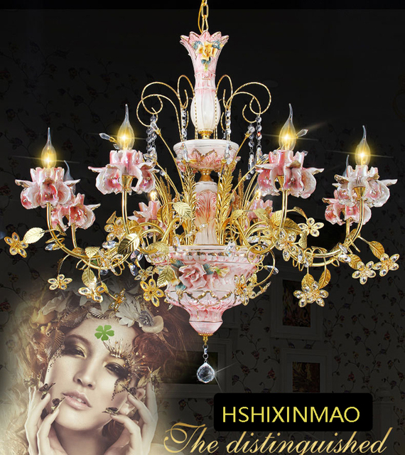 Tip top gold plated ceramic crystal crystal chandelier chandelier tip top gold plated ceramic crystal crystal chandelier chandelier living room chandelier bedroom dining room aloadofball Image collections